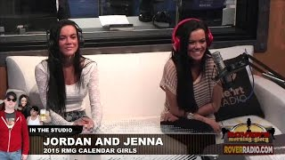 Jordan and Jenna, twin sisters who are in the 2015 Miss Morning Glory Calendar (http://store.roverradio.com/2015-miss-morning-glory-calendar/) , talk about teaching each other to make out and watching the other have sex.