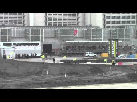 robert kubica vs ken block motor show trofeo bettega