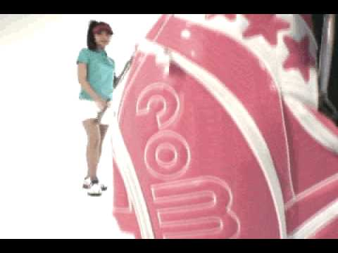 como!come! Image test movie/Golf Polo Shirt with Japanese KAWAII Girl