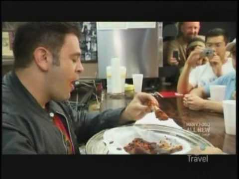 Man Vs Food 420 Cafe Hot Wings