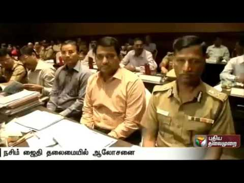 TN-polls-Chief-Election-Commissioner-holds-discussion-meeting-with-officials