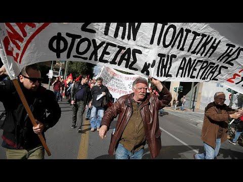 Παρέλυσε η Ελλάδα από την 24ωρη απεργία