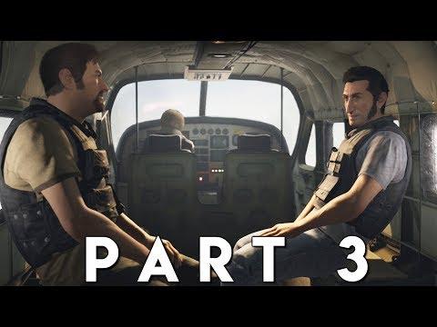 A WAY OUT Walkthrough Gameplay Part 3 - ESCAPE (PS4 Pro)