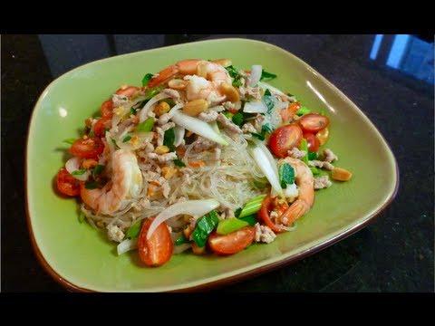 Glass Noodle Salad (Yum Woon Sen) ยำวุ้นเส้น – Hot Thai Kitchen!