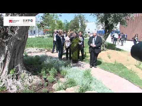 #BiodiversityPark Expo, Vandana Shiva inaugura Parco della Biodiversità