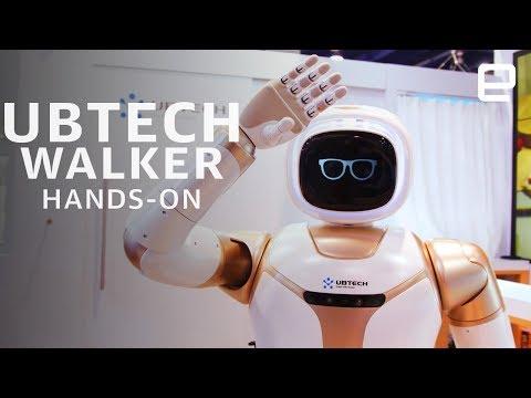 Walker, robot humanoïde, UBTECH