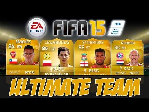 FIFA 15 ULTIMATE TEAM #1 [ПОНЕСЛАСЬ!!!]
