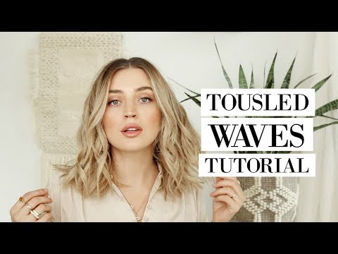 The PERFECT Tousled Loose Waves HAIR TUTORIAL