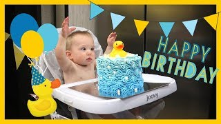 Landyn's First Birthday in an RV 🎂 #rvlife Fulltime Travel Family