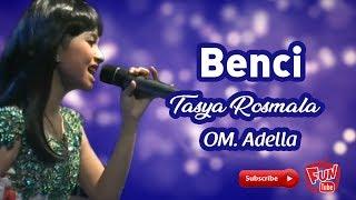 Video Benci Vocal by Tasya Karaoke with lirik MP3, 3GP, MP4, WEBM, AVI, FLV Juli 2018