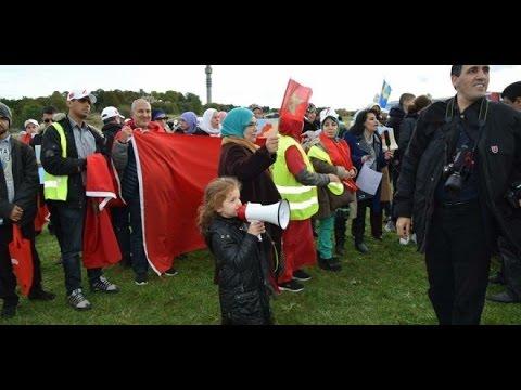 الوقفة الإحتجاجية على الموقف السويدي من البوليساريو
