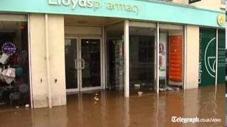 Helston United Kingdom  City pictures : UK flooding: Braunton and Helston some of the worst hit areas