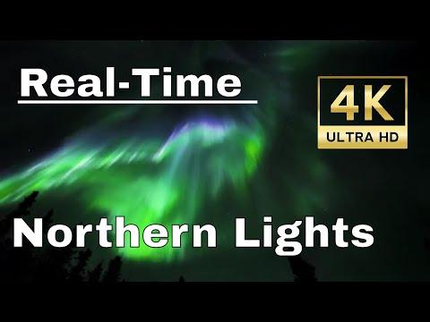 Memories - UHD 4K Real-Time Northern Lights in Fairbanks, Alaska