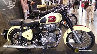 10. 2015 Royal Enfield Classic 500 - Walkaround - 2014 EICMA Milan Motorcycle Exhibition