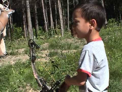 Five Year Old Archery Whiz Kid!