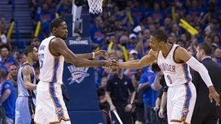 Kevin Durant and Russell Westbrook Light Up the Clippers in Game 2