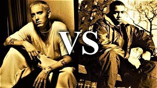 EMINEM Vs. Nas - Full Battle [Beef Analysis]