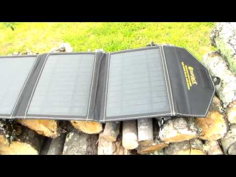 A must have for all preppers… small portable  solar panel.