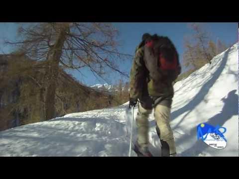 Vidéo Ski de randonnée dans le Mercantour