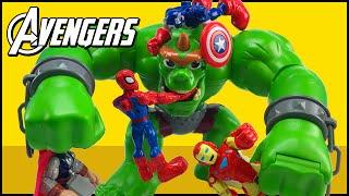 Video Avengers Assemble Captain America Hulk Iron Man Spider-Man Thor Wolverine Fight Castle Ogre MP3, 3GP, MP4, WEBM, AVI, FLV April 2017