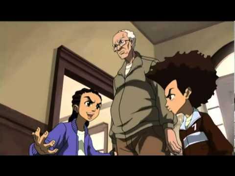 The Best Boondocks Moment Ever - Season 1, Episode 4 Granddad's Flight