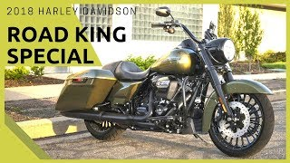 2. NEW 2018 Harley-Davidson Road King Special equipped with Harley's Reflex Brake feature