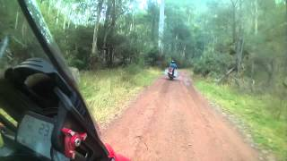 6. Ducati Multistrada 1200 ABS touring on TKC80 rough terrain  BMW GS 1200 GS 700