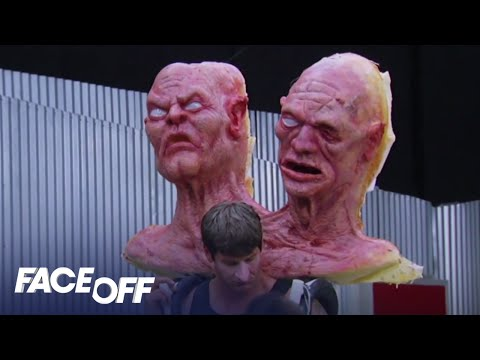 faceoff - Face Off - Tuesday at 9/8c - Sneak Peek: Two Heads Are Better Than One The artists team up to tackle larger-than-life giant characters based on the ancient f...