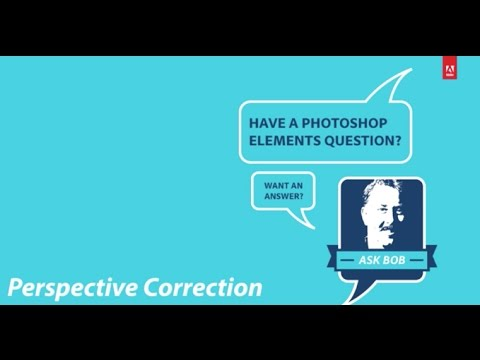 Perspective Correction in Photoshop Elements 15