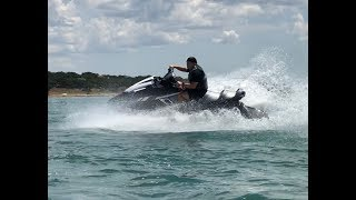 9. Yamaha FX Cruiser SVHO riding on Lakes in central Texas