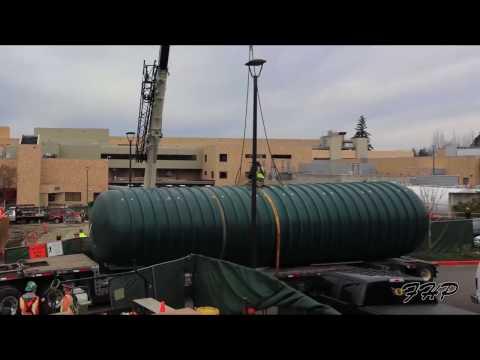 Emergency Water Storage - Underground