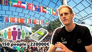 What goes into running a World Cup | Matthias Keller ianterview by OnBouldering