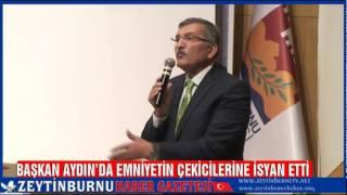 Başkan Aydın'da Emniyetin Çekicilerine İsyan Etti