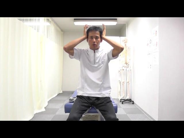 【セルフケア動画】偏頭痛・顎関節症 側頭筋をゆるめる