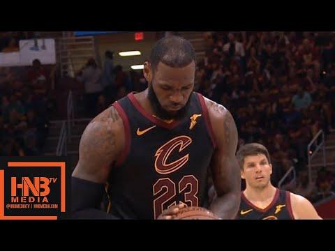 Cleveland Cavaliers vs Boston Celtics 1st Half Highlights / Game 4 / 2018 NBA Playoffs_Sport videók