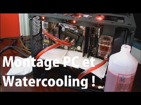 Montage PC Gamer avec Watercooling