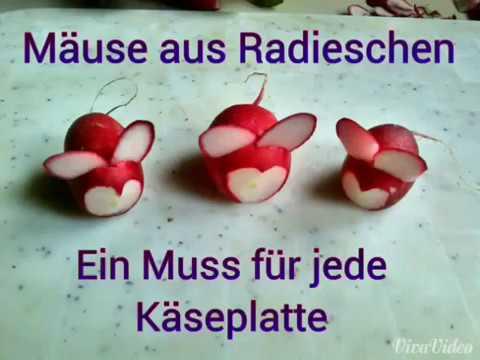 radieschen schnitzen}