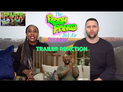 The Fresh Prince of Bel-Air Reunion - Trailer Reaction!