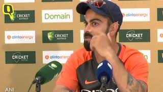 Captain Virat Kohli on India's Second Test vs Australia