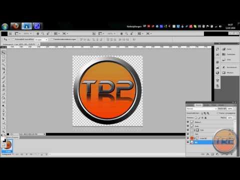 Как сделать логотип в фотошопе для youtube