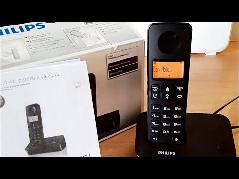 Telefon Dect PHILIPS D2051B/53 - D2001B/53