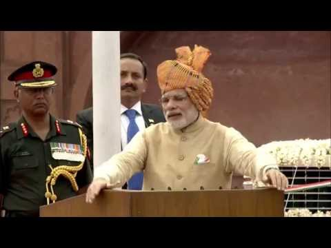 PM Modi at 69th Independence Day Celebrations at Red Fort, Delhi