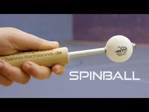Test des Hanno Spinball Trainingshilfe für Rotation | Tischtennis Helden