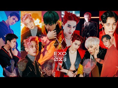 EXO Logs Jacket making film || 'OBSESSION' album