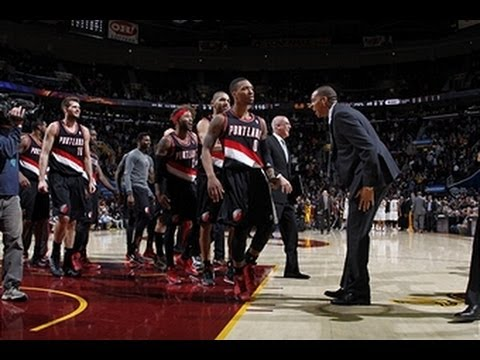 Damian Lillard Catches Fire in Cleveland