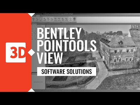 BENTLEY POINTOOLS VIEW - architectural example
