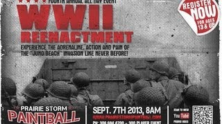 Annual WW2 Event at Prairie Storm Paintball - Juno Beach www.prairiestormpa… Image