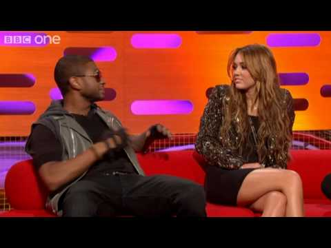 Usher, Miley Cyrus and Justin Bieber's prank calls – The Graham Norton Show preview – BBC One