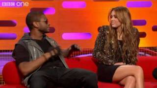 Usher, Miley Cyrus and Justin Bieber's prank calls - The Graham Norton Show preview - BBC One