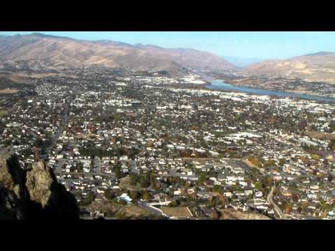 Wenatchee, Washington from Saddlerock